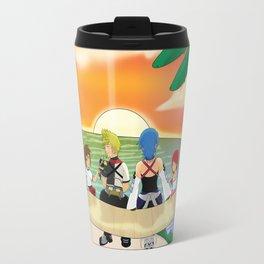 Together at sunset Travel Mug