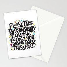 TAKE RESPONSIBILITY Stationery Cards