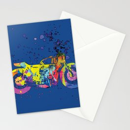 ap127-2 Motorcycle Stationery Cards