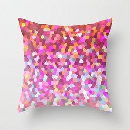 Mosaic Sparkley Texture G148 Throw Pillow