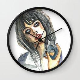 Edie Campbell Wall Clock