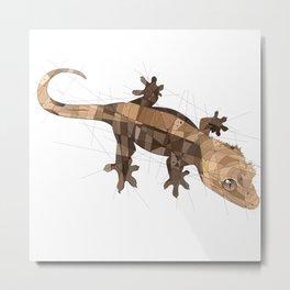 Crested Gecko Metal Print