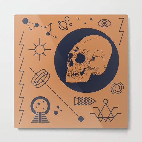 37 Latitude Metal Print