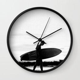 Surf Boy Wall Clock