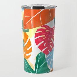Colorful Tropical Travel Mug