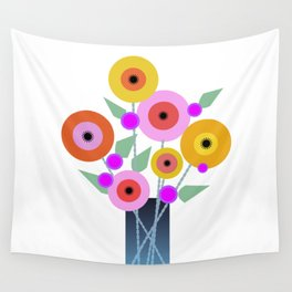Floral Potpourri Wall Tapestry