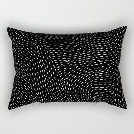 storm | black Rectangular Pillow