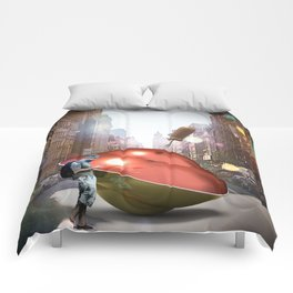 Spinning Top Hipster Comforters