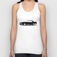 skyline Tank Tops featuring Skyline by Aaron Prahlow Design