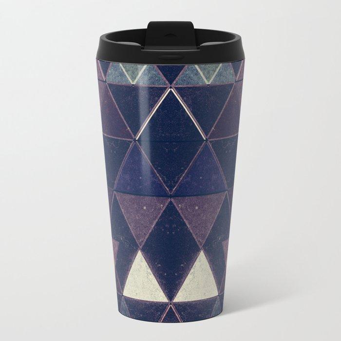 Triangles XXVI Metal Travel Mug