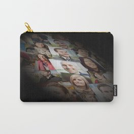 multiple face background Carry-All Pouch