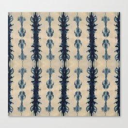 Shibori Flowers Canvas Print