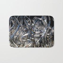 Wisps Glass Sculpture Bath Mat