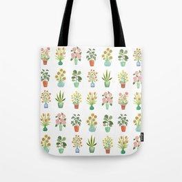 Mini Flower Garden Tote Bag