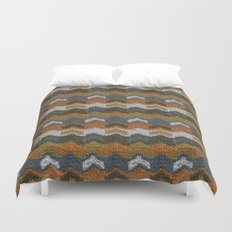 Flying V's Knit Duvet Cover