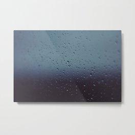 Rain Drops - Sheridan, WY Metal Print