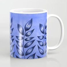 Blue Plant With Pointy Leaves Mug