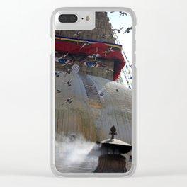 Bodnath Clear iPhone Case