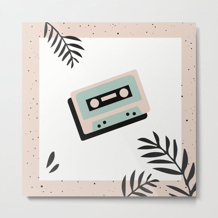 Jungle Mixtape Metal Print