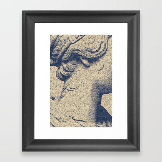 ink on paper Framed Art Print