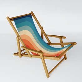 Retro 70s Color Palette III Sling Chair