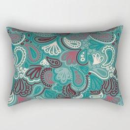 Abstract Batik Pattern III Rectangular Pillow