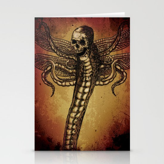 SERPENT LORD Stationery Cards