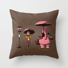 My imaginary friend Throw Pillow