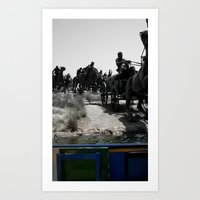 modern vampires of art history Art Prints featuring Modern Day History from Our Boat by Jessielee