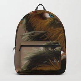 Cute Fur Ball Backpack