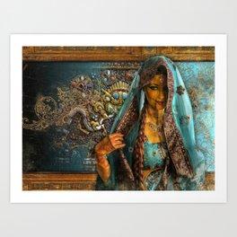 Priya  Art Print