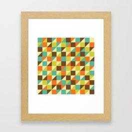 GeoPatt Framed Art Print