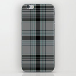 Tartan pattern iPhone Skin