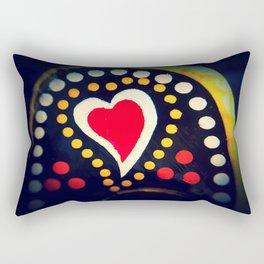 Portuguese Heart Rectangular Pillow