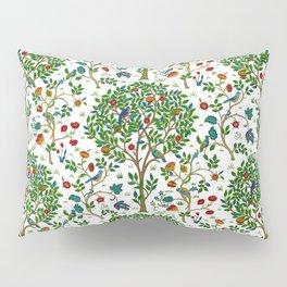 William Morris Tree of Life Pattern, Green & Multi Pillow Sham