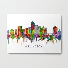 Arlington Texas Skyline Metal Print