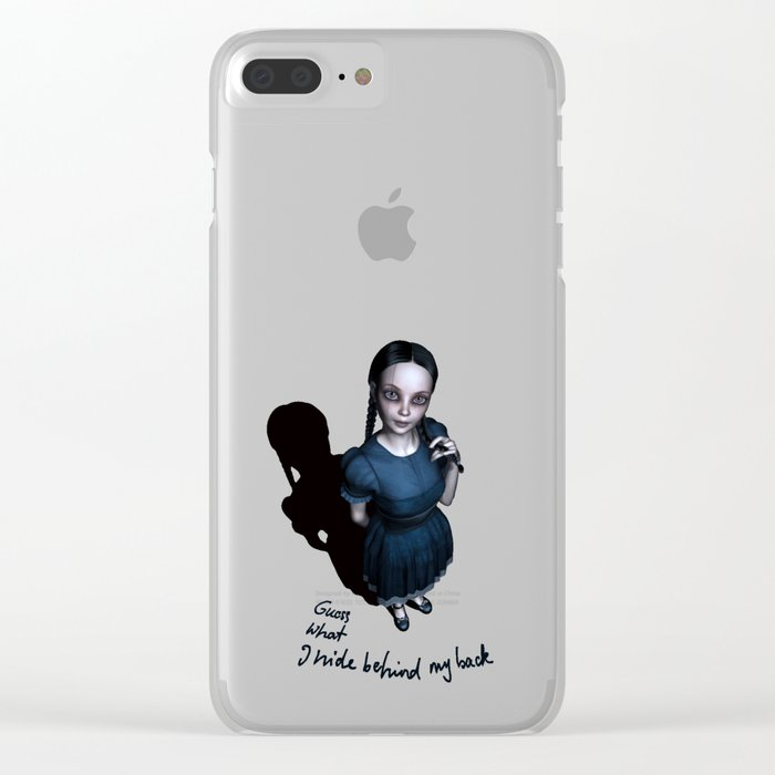 Miss Innocent Clear iPhone Case