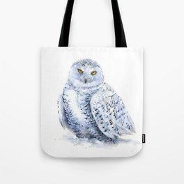 Snowy Owl Tote Bag