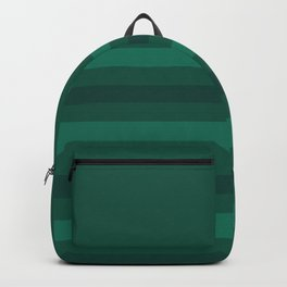 Green stripe Backpack