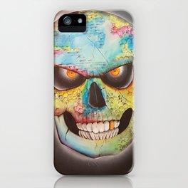 Mr. skull himself iPhone Case