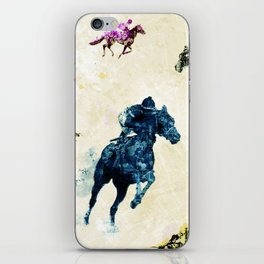 Horse Race iPhone Skin