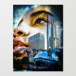 """""""Chicago Dreaming 3"""" Canvas Print"""