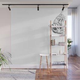 A Sketch :: A Sugar Glider Named Loki Wall Mural