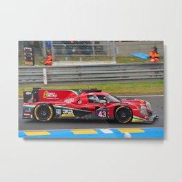 Motor Sport Racing Car Metal Print