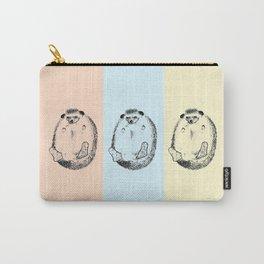 Grumpy Hedgehog Carry-All Pouch