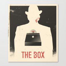 The Box - Movie Poster Canvas Print