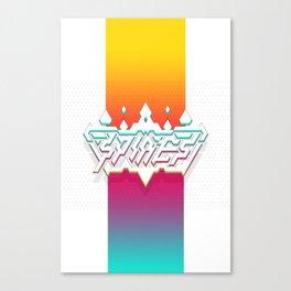 Spires : Crystyl Cystlys Spectrym  Canvas Print