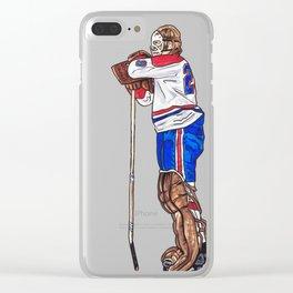 Dryden - The Pose Clear iPhone Case