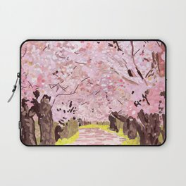 Cherry Blossom Trees Japan Laptop Sleeve