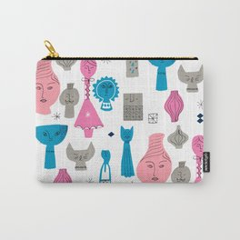 Things with Faces Carry-All Pouch